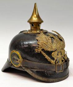 WWI German Military Officials (Beamte) Spike Helmet