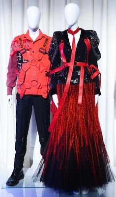 .  PUNK: Chaos to Couture @ The Metropolitan Museum of Art, New York.  Vintage SEDITIONARIES clothing designed by Vivienne Westwood & Malcolm McLaren, alongside a John Galliano for Dior couture gown  Opening May 6th - 2013  .