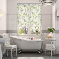 Add some freshness to your window with this Wisteria design, it comes full of the joys of spring. It's a floral design with classic traditions in a cool, contemporary colourway in true Sanderson HOME style.