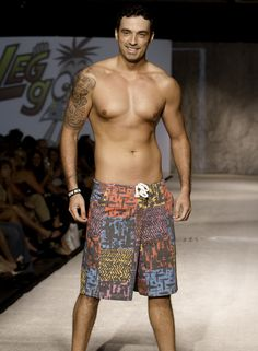 Our Flashback to 1983 board shorts made a huge splash at Omaha Fashion Week. To make your own splash, you can order some here http://leggoons.myshopify.com/collections/frontpage/products/83-flashback. The shorts are just $35.00 but the awesome model & tattoos are not included.