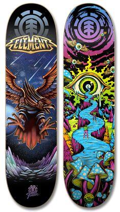 Best Skateboard Decks, Longboard Decks, Longboard Design, Skateboard Art, Skateboard Design, Custom Skateboards, Cool Skateboards, Skate Shape, Skate Art