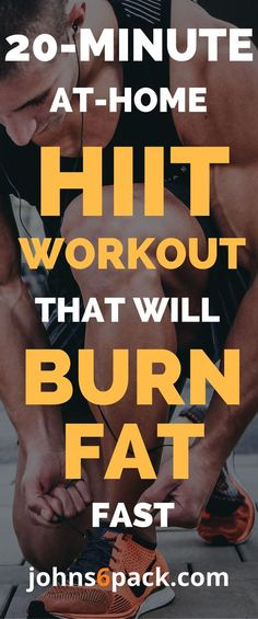 20 Min At Home HIIT Workout | Posted by: AdvancedWeightLossTips.com