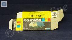 TOMICA 047D CANTER GARBAGE | 1/72 | ORIGINAL BOX ONLY | 1981-1987 JAPAN (B