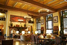 Ahwahnee Hotel - The Great Lounge - Yosemite Valley