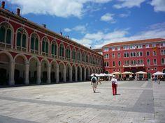 Tourist town in #Croatia