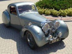 1938 Jaguar SS 100 Fixed Head Coupe