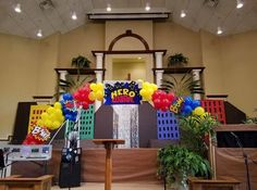 Thanks to Hero Amber Smith and team! Hero Central is off to a great start at Antioch Christian Church in Canton, Ga!!!!
