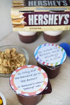 Joke printables for your kids' after school snack @OurThriftyIdeas. They'll love it!! #ReadySetSnack #AD