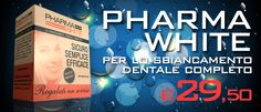 PHARMA WHITE Per uno sbiancamento dentale completo http://www.easyfarma.it/pharma-white-sbiancamento-dentale-cosmetico