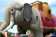 Lucy the Elephant, an architectural folly in Margate City, New Jersey