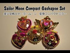 Overview: Sailor Moon Compact Gashapon Set (美少女戦士セーラームーン 変身コンパクトミラー)