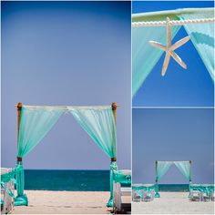2-Post Bamboo Arbor - Sun & Sea Beach Weddings