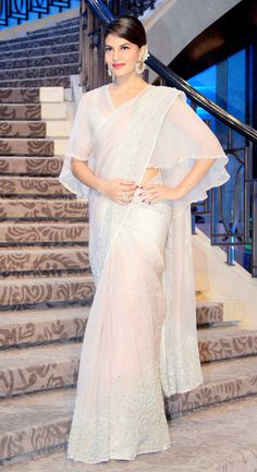 Jacqueline Fernandez at the Lakme Fashion Week 2015.