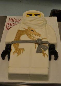 Nijago: LEGO ninja birthday cake from Sugarland Raleigh