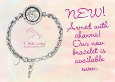 ARMED WITH CHARMS!   OUR NEW BRACELET IS AVAILABLE NOW! www.taideliving.com #taideliving