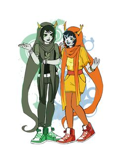 the two sylphs [kanaya: sylph of space - aranea: sylph of light]