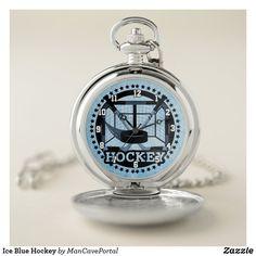 Ice Blue Hockey Pocket Watch Hockey Memes, Hockey Quotes, Hockey Goalie, Field Hockey, Hockey Players, Hockey Crafts, Hockey Girlfriend, Personalized Pocket Watch, Make A Gift