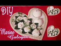 Свадебный аксессуар для колец/Heart for the rings for the wedding ✔ Marine DIY Guloyan✔ - YouTube