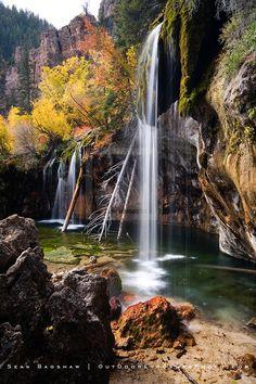 Falls at Hanging Lake Print, Rocky Mountains, Colorado