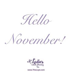 Hello November - #November2016 #TheLept Hello November, Party Favors, Party Themes, Tea, High Tea, Teas, Sweet Jars