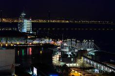 Parque das Nações - De noite