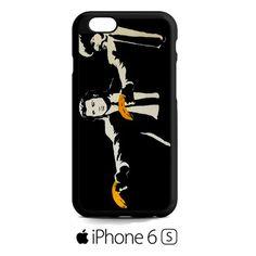 banksy pulp fiction iPhone 6S  Case
