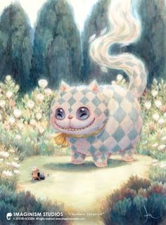 illustraties alice in wonderland | talewood: Kei Acedera | Tekeningen, illustraties enzo | Pinterest