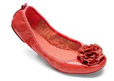 Lindsay Phillips Coral Ballet Flat #lindsayphillips #bloomingboutique