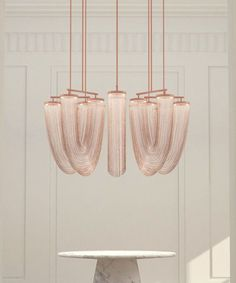 Otero Pendants - Small in copper | DSHOP