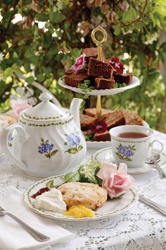 Afternoon tea & leisure time…