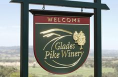 Glades Pike Winery Sign | Danthonia Designs