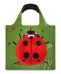 Loving this Green Beetle & Gecko Tote on #zulily! #zulilyfinds