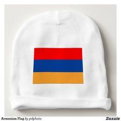 Armenian Flag Baby Beanie