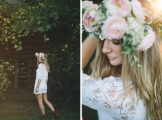 #bohemian #floralheadpiece #floralcrown #boho  #lookbook #hippy #bohemianfashion #portrait