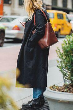 , Streetstyle на Неделе моды в Нью-Йорке. Часть 2