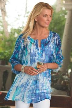 Silk Tides Tunic from Soft Surroundings:
