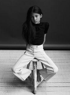 La Petite Magazine Girl editorial - Max Modén