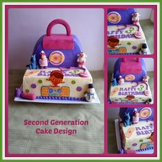 Second Generation Cake Design: Doc McStuffins Birthday Cake