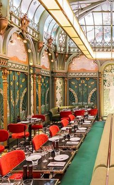 Art Nouveau Interior Design in Paris
