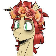 Flower crownsBecause why not