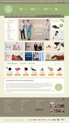 Retro E commerce Design by ~emrah-demirag on deviantART