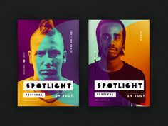 Spotlight is a summer beach festival which was held in Helsinki in summer Our task was to create a vivid modular design that works well with photos and looks good in the urban environment and in nature. The main theme of identity design is styliz… Festival Posters, Art Festival, Food Festival, Flower Festival, Beer Festival, Spring Festival, Musikfestival Poster, Karen O'neil, Photography Beach