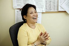 Linda from the carecareers TV advertisement.