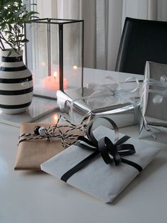 Simple |Gift-wrapping |Christmas