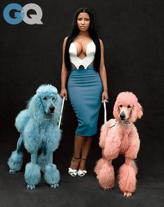 """it's always about the female taking back the power, and if you want to be flirty and funny that's fine, but always keeping the power and the control in everything.""   Nicki Minaj: Cheeky Genius, GQ"