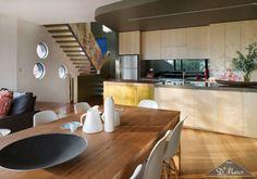 Se você gosta de receber os amigos e cozinhar, os ambientes integrados são uma ótima opção, assim você pode cozinhar e participar da conversa da sala.