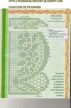 TEJIDO CROCHET=GANCHILLO= PUNTILLAS= COLECCION DE PICASAWEB