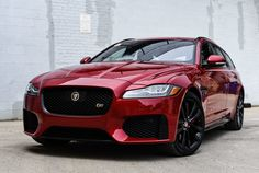Jaguar's new XF S Sportbrake is a beautiful wagon that's as practical as it is fun-to-drive. It's the ideal alternative to an SUV or crossover. Jaguar Suv, New Jaguar, Jaguar Land Rover, Sports Wagon, Station Wagon, Automobile, Jets, Vehicles, Madness