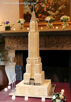 What an awesome building cake! Empire State Building or some French building?