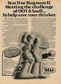 vintage bell star helmet - Google Search Bell Helmet, Vintage Helmet, Advertising, Ads, Motorcycle Helmets, Race Cars, Star, Google Search